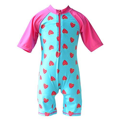 TFJH Girls Swimsuit 5-6 Years UPF 50+ UV One Piece (Swimwear Sun Protection compare prices)