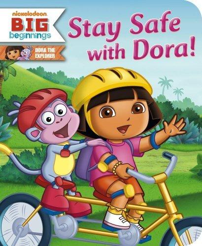 Stay Safe with Dora! (Dora the Explorer) by Tina Gallo (2011-08-30)