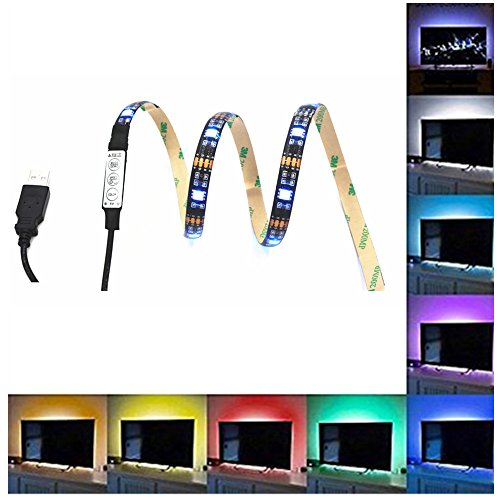 eonpow-394-inch-bias-lighting-for-hdtv-usb-powered-30-led-neon-strip-multi-color-rgb-strip-accent-li
