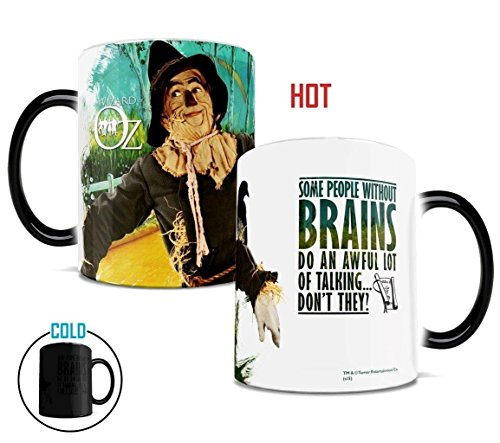 Wizard of Oz Scarecrow Heat Changing Morphing Mug ()