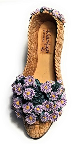 Willow Hall Flowers of the Month Collection Shoe - Floral Fantasy - OCTOBER