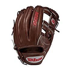 """The new A2000 1787 is made to work for you - no matter where you play on the infield. This 11. 75"""" model is popular with both third basemen and middle infielders because of a pocket that's a little deeper, making it easier to snag line drives..."""
