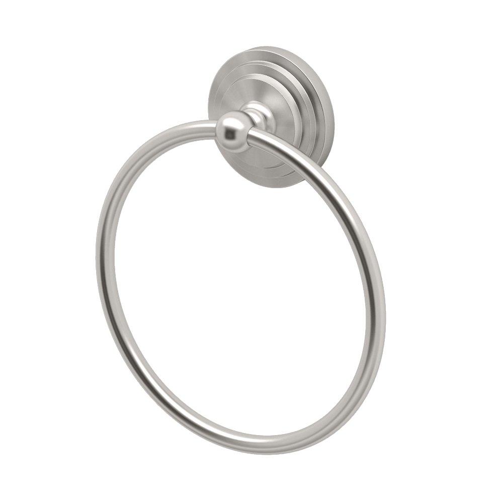 Gatco 5846 Marina Towel Ring, Satin Nickel