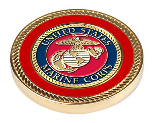 NCAA US Marines - Challenge Coin / 2 Ball Markers