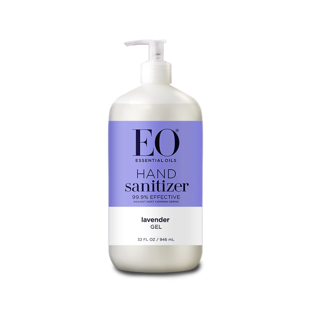 EO Botanical Hand Sanitizer Gel, Lavender, 32 Ounce
