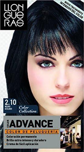 LLONGUERAS Color Advance Hair Colour Number 2.10, Blue Black ...