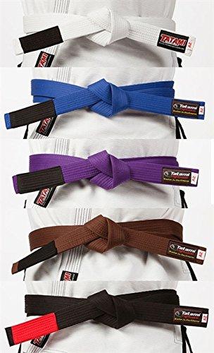 Tatami Fightwear BJJ Rank Belts - Black - A2 ()
