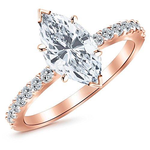 0.53 Ct Marquise Diamond - 2