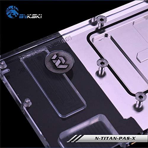 Bykski GPU Block for Founders GTX1080Ti GTX1080 Titan X Pascal N-Titan-PAS-X