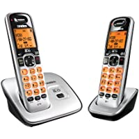 Uniden D1660-2 DECT6.0 Caller ID Cordless handset with 2 handsets
