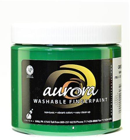 Chroma Inc. Aurora Washable Finger Paint (Green) 3 pcs sku# 1836243MA