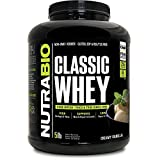 NutraBio Classic Whey Protein – Creamy Vanilla 5 lbs For Sale