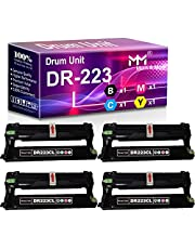 MM MUCH & MORE Compatible Drum Unit Replacement for Brother DR-223CL DR223 DR223B DR223C DR223M DR223Y Used for HL-L3210CW L3230CDW L3270CDW L3290CDW MFC-L3710CW L3750CDW L3770CDW Printers (4-Pack)