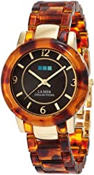 La Mer Collections Women's LMINDO002 Indo Lucite Watch