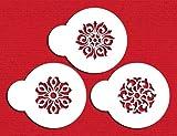 Designer Stencils C566 Three Gem Pendants Cake