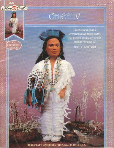 Chief IV Crochet and Bead a Ceremonial Wedding Outfit for the Proud Groom of Our Indian Princess IV Use 15