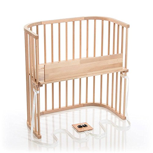 babybay Bedside Sleeper (Light Gloss Finish)