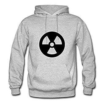 Vintage Radiation Designed Elegent And Regular Hoody In Grey