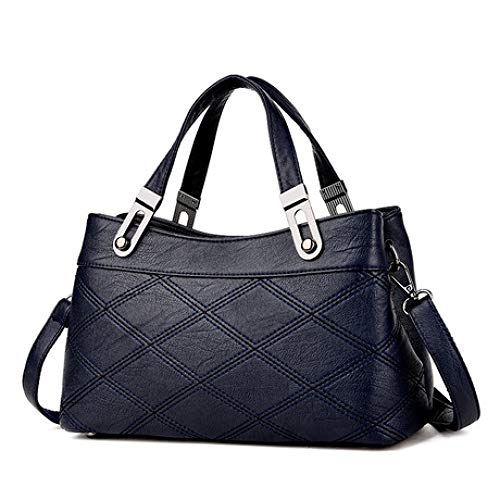Fashion e Inverno Messenger 2018 Women's Messenger Age Blue Shoulder Simple Autunno New Middle Bag Spfazj knOP8wX0