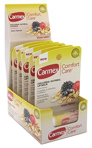 Carmex COMFORT CARE Colloidal Oatmeal Lip Balm, 0.15-oz. MIX