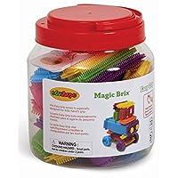 Edushape Magic Brix Set de construcción, 72 piezas