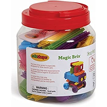 Edushape Magic Brix Building Set, 72 Piece
