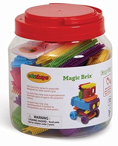 Edushape Magic Brix Building Set, 72 Piece