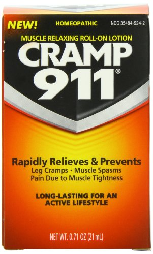 Cramp 911 Muscle Relaxing Roll-on Lotion, 0.71 oz (21 ml)