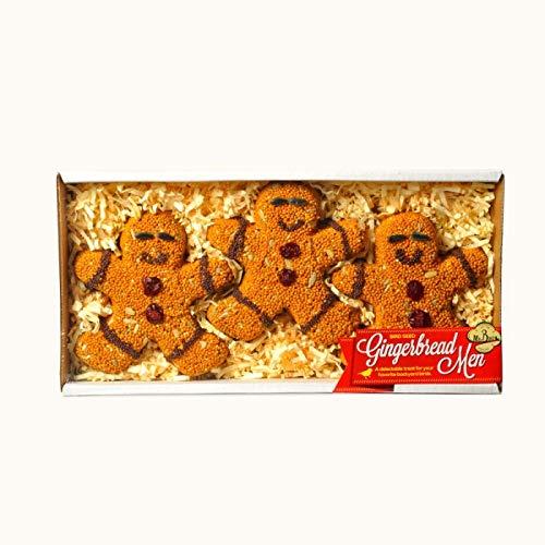 Mr. Bird - Bird Seed Gingerbread Men - 3 Pack