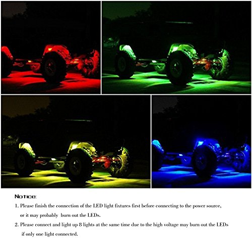 Willpower Led Rgb Rock Light Kits With Cell Phone App