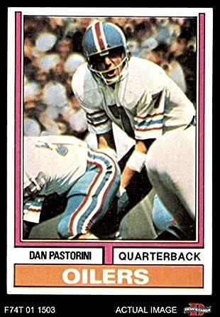 Amazon.com  1974 Topps   475 Dan Pastorini Houston Oilers (Football Card)  Dean s Cards 8 - NM MT Oilers  Collectibles   Fine Art f16e82269