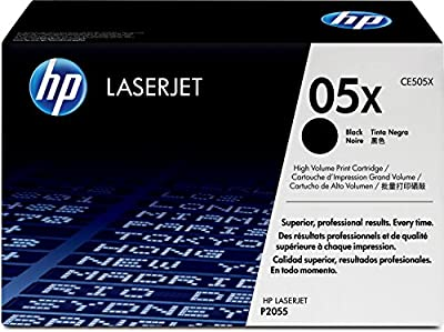 HP 05X (CE505X) Black High Yield Original LaserJet Toner Cartridge