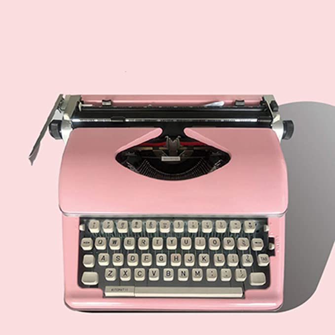 Typewriter Cuerpo de Metal Máquina de Escribir Nueva ...