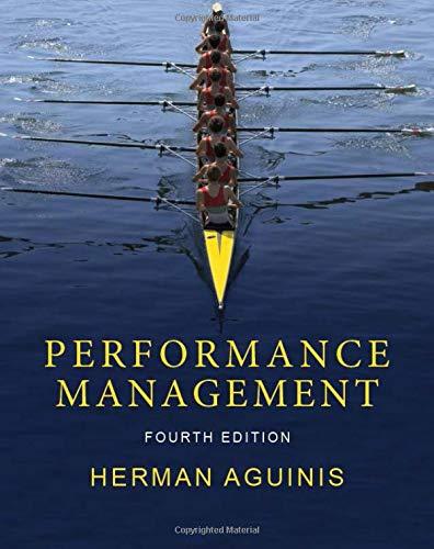 Performance Management, fourth edition