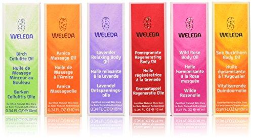 Birch Arnica Massage Oil - Weleda Body Care - Body Oil Essentials Kit 1 kit