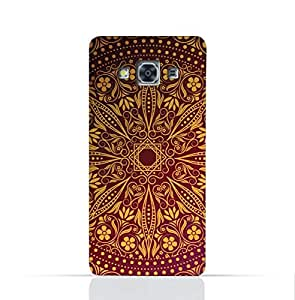 Samsung Galaxy J3 Pro TPU Silicone Case With Floral Pattern 1201 Design