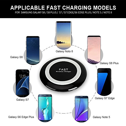 10w Quick Charging Dock For Iphone X Galaxy Note 8 Fast