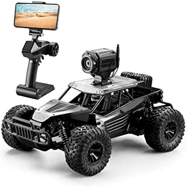Dexop Rc Car 2 4ghz 1 16 4wd Remote Contorl Car With Fpv Hd Camera Dual Control Mode 20km H High Speed Remote Control Vehicle For Gifts For Children Adult Black Amazon Com Au Toys