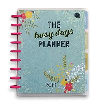 Agenda 2019 Busy Days de Boxclever Press. Planner personal con vista semanal. Anotar tus sueños, metas, organizar tu vida. Enero a diciembre 2019. ...