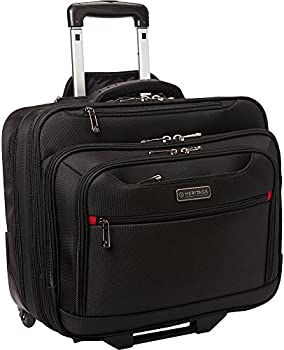 Heritage Products Polyester Wheeled Business Case Briefcase