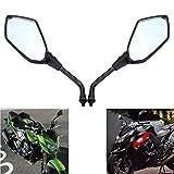 MZS Motorcycle Rear View Mirrors for Kawasaki ER6B ER-6N 2006-2010,KLE 650 2007-2015,Z750 2004-2011,Z1000 2003-2015,ZRX1100 1999-2000,ZRX1200 2001-2008,KLE400 KLE500 Versys 1000,Zephyr 1100/750
