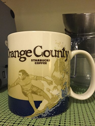 Starbucks Orange County Cup Coffee Mug Collector Series