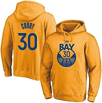 GRYUEN Hombre Mujer Suéter de Baloncesto NBA Warriors 30# Curry ...