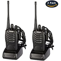 Galwad Rechargeable Walkie Talkies Long Range Two Way Radio with Earpiece Headphone Charger(2 Pack/4 Pack/6 Pack)
