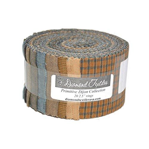 Diamond Textiles Primitive Dijon Collection 2 1/2