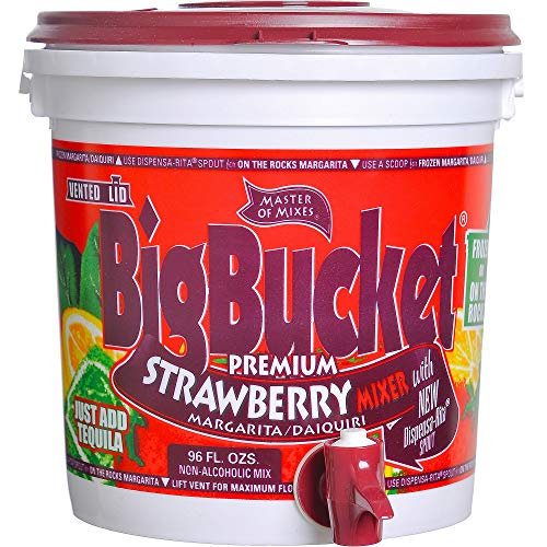 American Beverage Marketers Margarita Mix, Strawberry, 96 Ounce