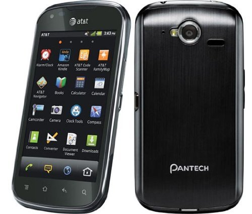 Pantech Burst P9070 Black Unlocked Cell Phone