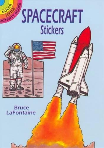 Spacecraft Stickers (Dover Little Activity Books Stickers)