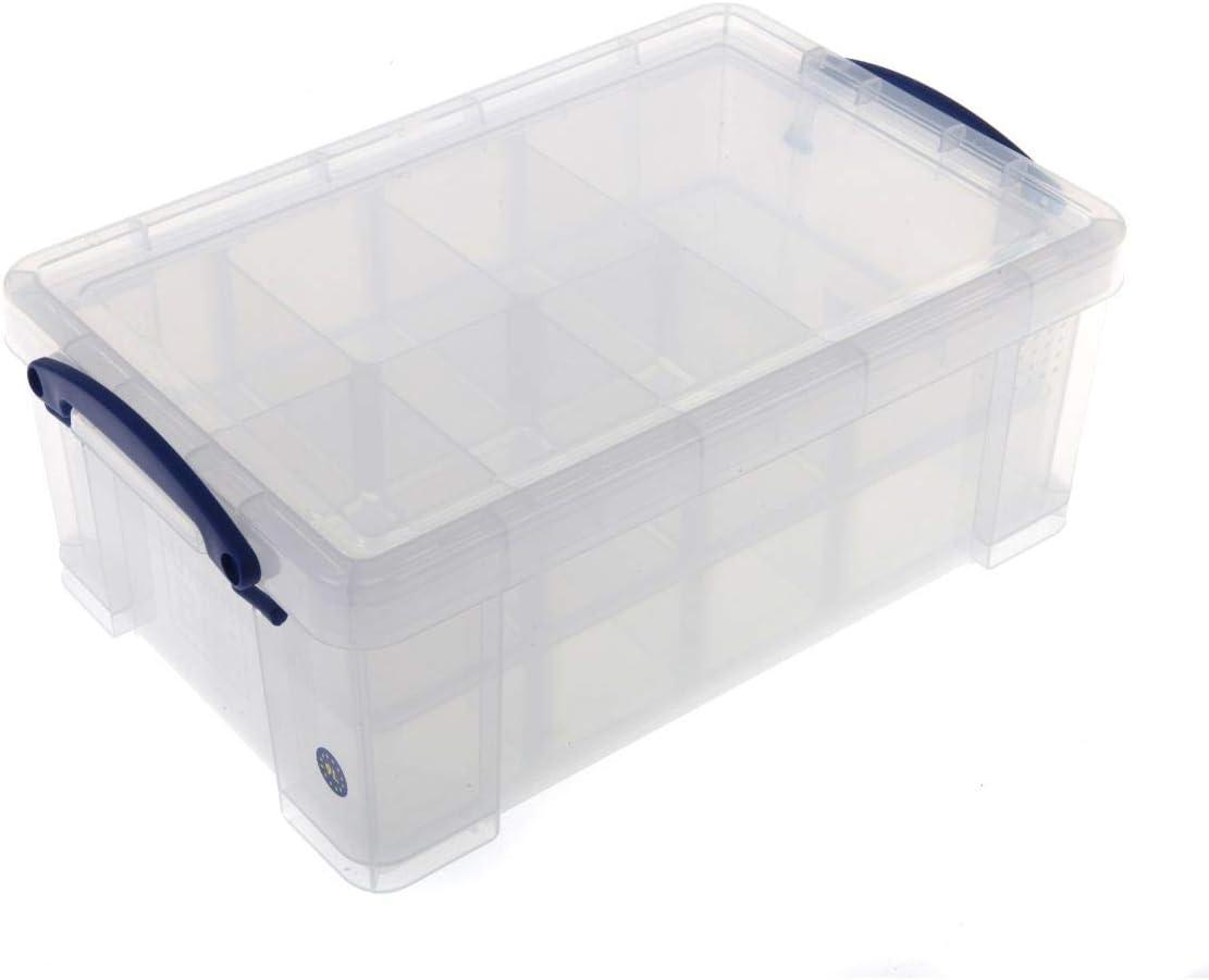 9/l Really Useful Aufbewahrungskasten mit mehreren F/ächern