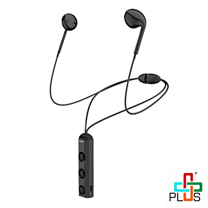 d05827ee98a Plus Magnetic Series Wireless Bluetooth Earphones with Stereo Sound and  Hands-Free Mic (Full